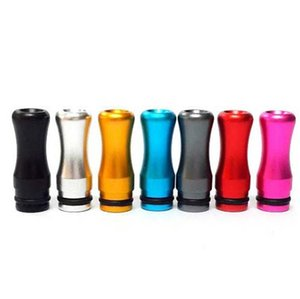 2019 Hot Aluminum Metal Ego Drip Tip EGO Colroful tips for DCT 510 Clearomizer Colorful Aluminum tip Metal Material Ego Mouthpiece DHL Free on Sale