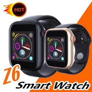 Wholesale Newest Z6 Women Smartwatch For Apple Iphone Smart Watch Bluetooth Watches With Camera Supports SIM TF Card For Android Smart Phone