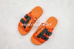 Suicoke Patch Slider Sandal Palm Angels Orange Black Volt Men Women Sandals Designer Shoes sandalias Slide Summer Fashion Slipper Flip Flop