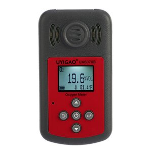Wholesale Portable Oxygen Detector Automotive Mini Oxygen Meter O2 Gas Tester Monitor Gas analyzer with LCD Display Sound and Light Alarm