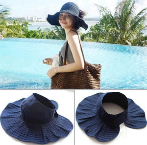 New Summer Fashion Visors Women Cycling Caps Sun Hats Girls Woman Sun Caps Cloth Beach Hats on Sale
