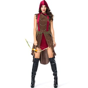 Wholesale New Women Roman Greek Gladiator Costume Laides Warrior Princess Dress Up Halloween Cosplay Clothing Stag Party Costume Outfit