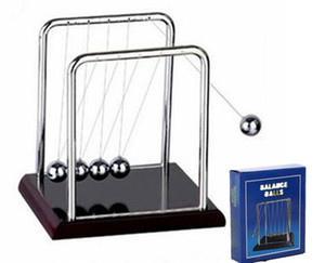Wholesale newtons cradle for sale - Group buy Early Fun Development Educational Desk Toy Gift Newtons Cradle Steel Balance Ball Physics Science Pendulum