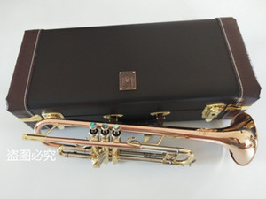 Bach LT197GS-77 B flat Trumpet Bronze Phosphorus copper instrument professional New Trumpet Free shipping