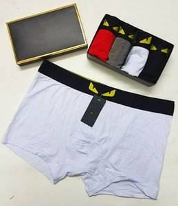 19ss Designer Brand Mens Boxers Fashion Sexy Designer Boxers Short Male Cueca Male Boxers Underpants 5Pcs. on Sale