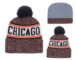 Wholesale 2019 New Arrival American Beanies Caps Football teams Beanies Sports Hats winter knit caps Beanie Knitted Pom Hats drop shippping