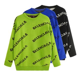 20ss Autumn   Winter Luxury Sweater Fashion Men Women Design brand Sweater Pullover Long Sleeve Letter Printed Couple Sweaters S-XXL