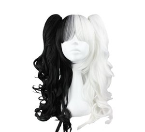 Wholesale adjustable Select color and style cm cm Long Mawei pigtail Mixed Synthetic Wig High Temperature Fiber Hair WIG