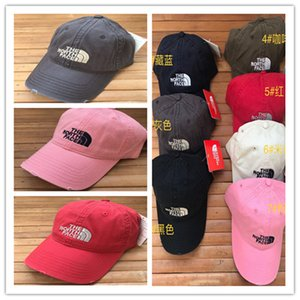 Wholesale Brand NF Baseball Hat The North Women Men Snapbacks Face Ripped Fashion Pure Color Ball Caps Adjustable Autumn Winter Hats With tag sale