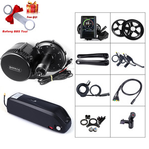 Bafang BBS02B 48V 750W Motor with LCD Display mid motor Conversion Kits eBike Battery 48V 12Ah with Charger