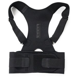 Wholesale Men Protect the back Posture Correct Brace Adjustable Vest Back Support Posture Shoulder Belt body Vets Corrector M XXL