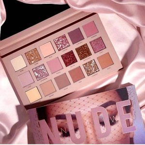 Wholesale Luxury Stock Stock Nude Eyeshadow Palette 18 Colors Shimmer Matte Eyeshadow Beauty Makeup Eyeshadow Palette DHL Free