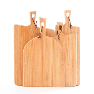 Wholesale Chopping Block Breadboard Boards And Chopping Cutting Fruit Board Pizza Tray Wooden Kitchen Western Style Food Steak Japanese lp k1
