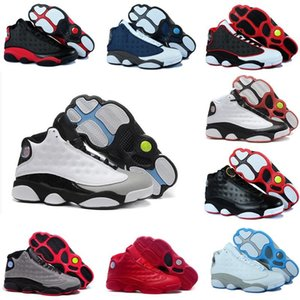 Hot 13 13s Bred Flint Grey Toe Wheat Grey all star AltitudeBlack Cat Men Women Basketball Shoes air white black grey XIII j13 retro Sneakers