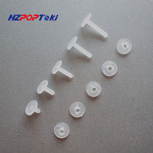 Wholesale Environmental Plastic Binding Corrugated Nut Fasteners Screws PP Nylon Binder Post Lock Button Rivet Studs Twisted By Hand sets