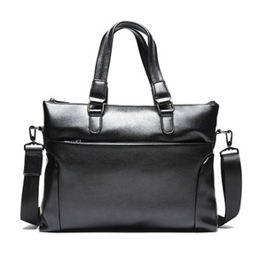 мужские посыльные сумки оптовых-GUMST Men Laptop Bag Briefcase Fashion Men s Business Bags Casual Leather Messenger Bag for Men