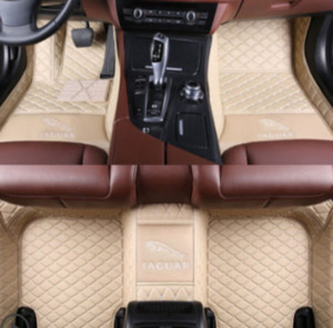 Wholesale Jaguar F PACE PU interior mat stitching surrounded by environmentally friendly non slip non toxic car mats