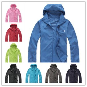 Wholesale Brand Designer Summer Jacket Unisex NF Coat Hooded Sun Protection Clothing Tops Hoodie Quick dry Sports Beach Jogging Fishing Jacket C53007