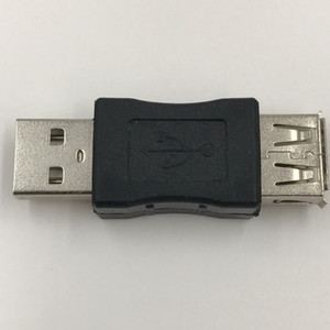 Wholesale 2 Pieces USB Extender Male to Female Adapter USB Cable Extention Degree in Degree out Connector