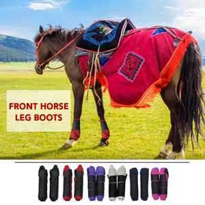Wholesale Horse Leggings Hoof Wrap Leg Protective Equipment Harness Supplies Horse Splint Leg Boot Protection Support Equestrian Use Tool Horse Riding