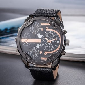 Wholesale 2019 Quartz Watch Men Business Casual Military Watches Sport Wristwatch Silicone Fashion Hours reloj hombre