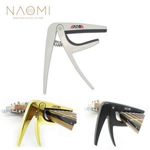 NAOMI Aroma AC-01 Guitar Capo High Quality Premium Metal Capo Acoustic Electric Guitar Trigger Style Guitar Accessories on Sale