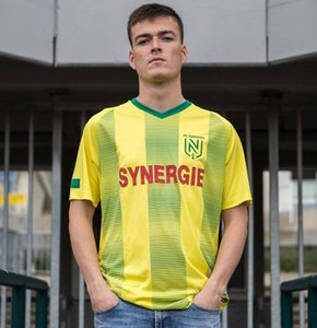 2019 2020 FC Nantes adult Soccer Jerseys home yellow shirt 19 20 FC Nantes Men's Sala Coulibaly Waris Rongier Boschilia Football Shirt
