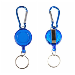 seil fliegt  großhandel-Angeln Seil Bandmaß Werkzeug Keychain Tragbare Fly Fluss Bach Angeln Retractable Reel Badge Boot Angeln Karabiner Clip Schlüsselring