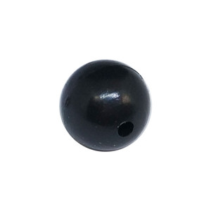 Wholesale 12mm rubber resale online - 200pcs pack Soft Plastic Beads Round Stopper mm mm Black Soft Rubber Fishing Beads Stops Rig Carp Fishing Accessories