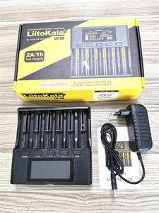 LiitoKala Lii-S4 lii-S2 Lii-S6 LCD Charger 3.7V 18650 18350 18500 16340 21700 20700B 20700 14500 26650 1.2V AA AAA Smart Charger