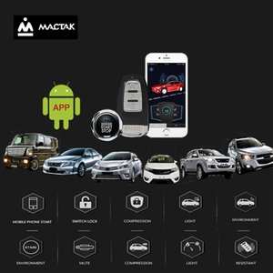 Car accessories Keyless Entry Comfort System PKE android mobile Phone APP Remote Start Car Engine Alarm Push 963