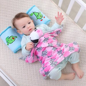 Wholesale Cute Cartoon Animal Infant Newborn Baby Soft Warm Sleeping Blanket Bedding Toy