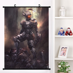 Wholesale Anime Goblin Slayer Sword Maiden Cosplay Wall Scroll Cartoon Mural Poster Wall Hanging Poster Home Decor Collect