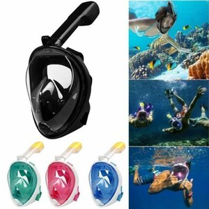 Wholesale Adult Teenager Diving Mask Underwater Scuba Anti Fog Full Face Diving Mask Snorkeling Set with Anti-skid Ring Snorkel mask MMA1639