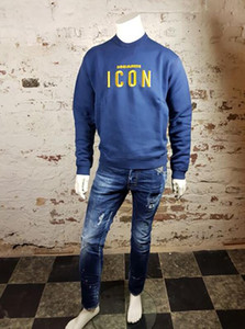 Wholesale New hot sale high street Spring Autumn Sweatshirts Fashion Hoodies Coat Men Brand Long Sleeve Pullover Casual Tops Mens Clothing