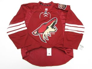 Cheap custom ARIZONA COYOTES HOME TEAM ISSUED JERSEY stitch add any number any name Mens Hockey Jersey XS-6XL on Sale