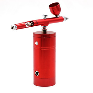 Wholesale 0 mm Airbrush Paint Airbrush Compressor Air Brush Spray Gun Sprayer Pen Kit Makeup Cake Needle Body Paint Nail Tattoo