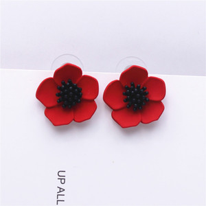 2019 New Design Fashion Jewelry Elegant came Flower Earrings Summer Style Beach Party Statement earring for gift for woman on Sale