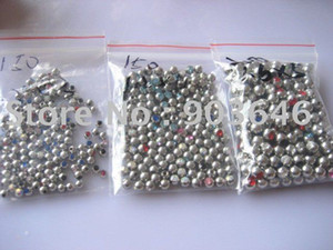 Free shippment 100pcs lot Crystal Gems Ball Replacement Body piercing jewelry HOT