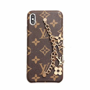 Luxury Phone Case for iphone xr case with Chain jewelry for Iphone X XS MAX 7P 8 6P cover Designer Phone Cases Leather Fashion Back Cover