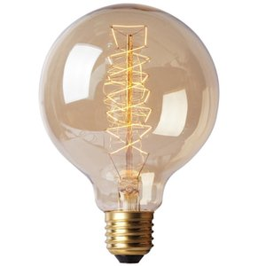 Wholesale E27 W Warm White K Wire Bar Bubble Dragon Edison Retro Decorative Lamp AC220 V