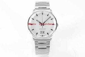 Wholesale super watch men for sale - Group buy HG Factory mm COMMANDER Designer Watches Date Men Watches Stainless Steel Wristwatches Sapphire Super Waterproof Automatic Mechanical