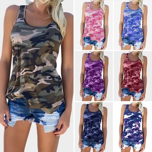 Wholesale Women t shirt Women tank top Camouflage T shirt Plus size clothe Sexy Fashion All matched Hot selling China women clothing manufacturer