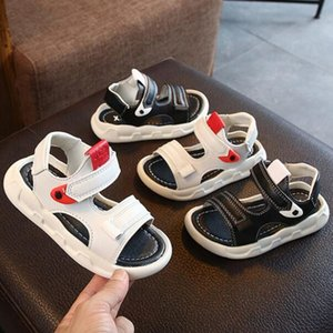 Wholesale New Children Sandals Summer Casual Kids Beach Shoes Boys Girls Sandals Non slip Soft Bottom Baby Sandal Fashion Shoes