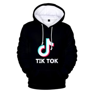 Wholesale BTS D Tik tok Hoodie software New Print Hooded Women Men popular Clothes Harajuku Casual Hot Sale Hoodies sweatshirt XL
