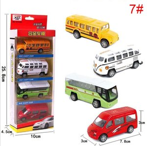 Wholesale simulation mini pull back car set 1:64 alloy car model Diecast Model Cars Children's educational toys