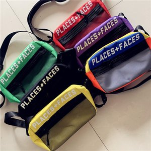 Wholesale Fashion Trend Hot New Women Shoulder Casual Messenger Crossbody Bag Students Phone Bag Men Cool Sport Hip hop Riding Chest Bag