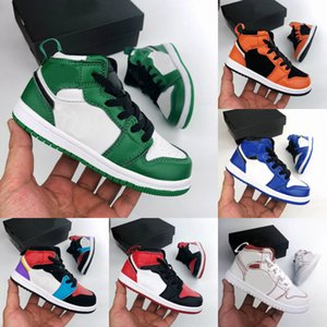 Wholesale 2019 New Baby Kids Cactus Jack Basketball Shoes OG s Travis Scott Sneakers Children Sports Shoes Boy Girl Toddler Trainer Running Shoes