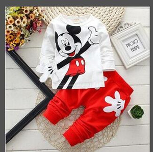 Wholesale 2019 Classic Luxury Logo Designer Baby t-shirt Pants coat jacekt hoodle sweater olde Suit Kids fashion Children's 2pcs Cotton Clothing Sets