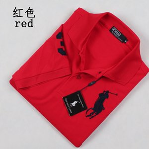 2019 t-shirt For Men Designer POLO Ralph American brand design men's cotton double buckle polo shirt fashion avant-garde factory direct
